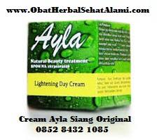 Ayla cream malam bagus aman BPOM untuk perawatan jerawat kusam kering