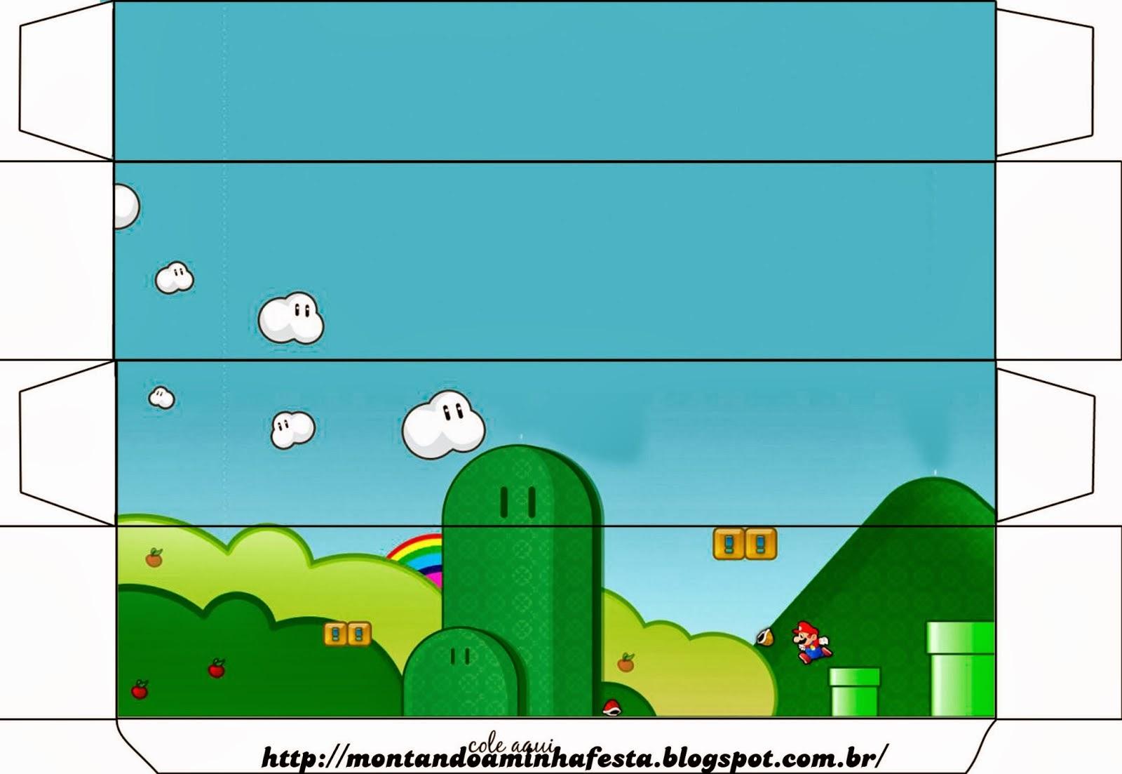 Cajas de Super Mario Bros para Imprimir Gratis. | Ideas y material ...