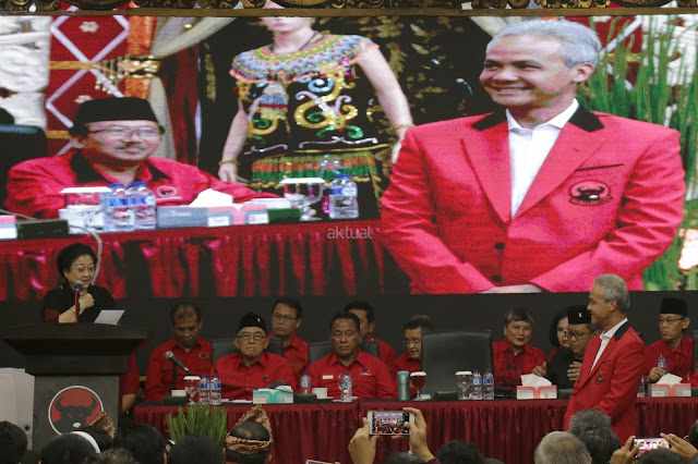 KPPP: Sebut PDIP Nekad Ambil Resiko dengan Mengusung Kembali Ganjar Pranowo di Jateng