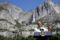 U.S. President Barack Obama speaks about the National Park Service at Yosemite National Park, California, U.S., June 18, 2016. (Credit: Reuters/Joshua Roberts/File Photo) Click to Enlarge.