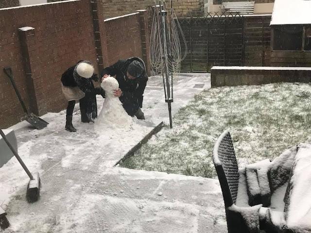 snowman-building