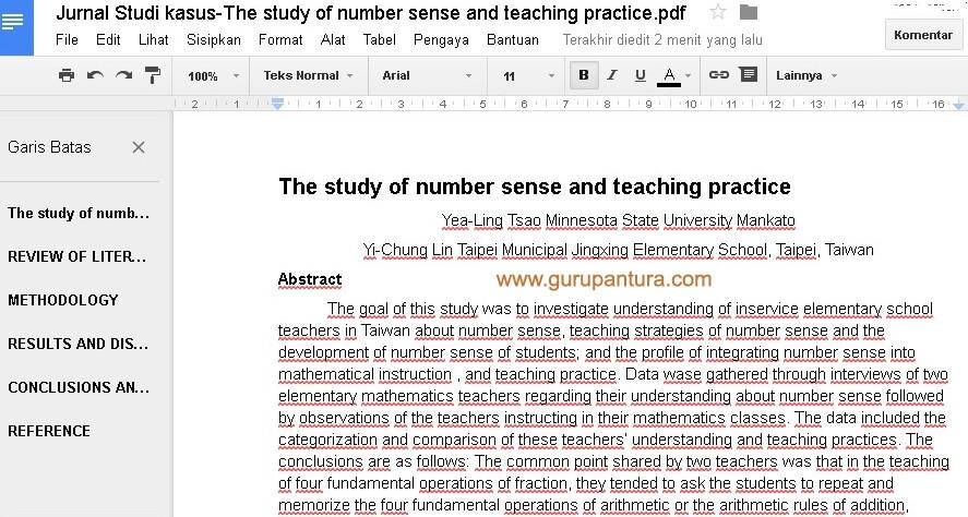 Tutorial Mentranslate File PDF Bahasa Inggris dengan Google-Guru Pantura