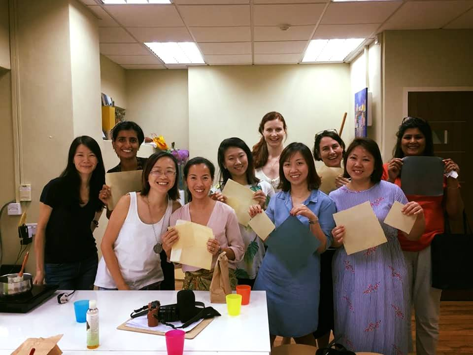 DIY Beeswax wrap workshop in Singapore