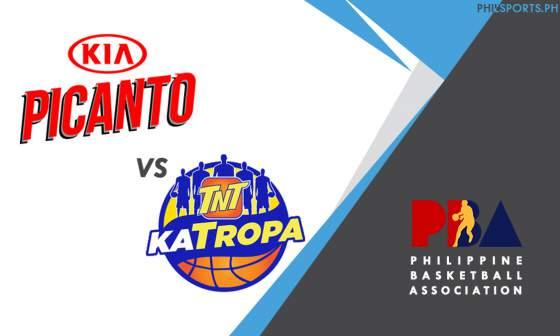 PBA: Kia Picanto vs. TNT Katropa
