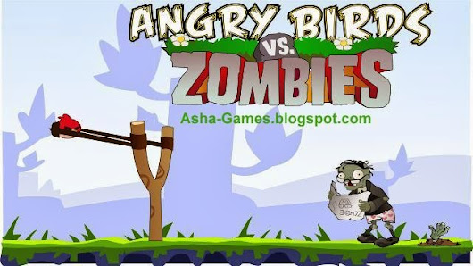 Angry Zombie Birds game download for Nokia Asha 500 501 502 503 230