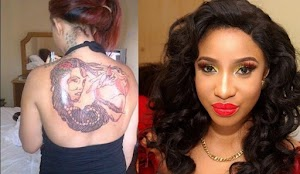 I will soon clear all the tattoos on my body - Tonto Dikeh says after born again