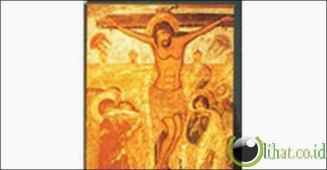 UFO Di lukisan Penyaliban - abad ke 17