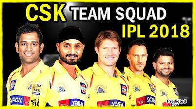 Chennai Super Kings Squad IPL 11 2018 Full Team Celebration