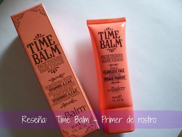 Reseña: Time Balm - Primer de rostro de The Balm