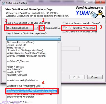 Tutorial Membuat Multi Bootable Windows (Win 10,8,7
