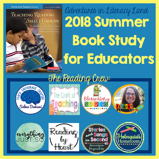 This post features chapter 1 of the book Teaching Reading in Small Groups. This book study is for all teachers of reading. Check out the post for more details.