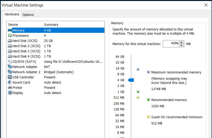 Ceph Single Node Setup Ubuntu