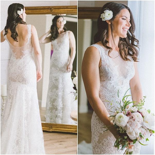 vestido de noiva renda Angrila
