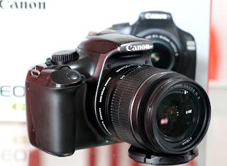Kamera Canon 1100D Fullset