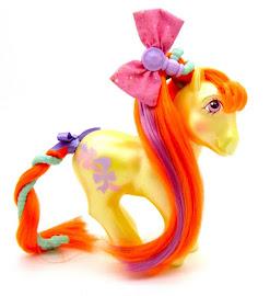 My Little Pony Beautiful Bows Year Eleven Hairdo Ponies G1 Pony