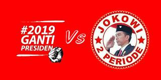 "Ungkapan Jokowi soal Tagar ""2019 Ganti Presiden"""