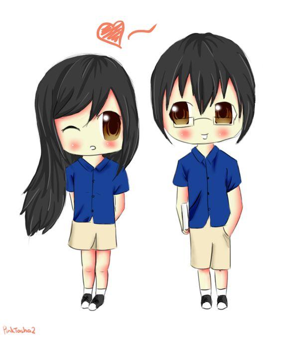Top 99 avatar cặp Anime cho 2 người dễ thương & đáng yêu