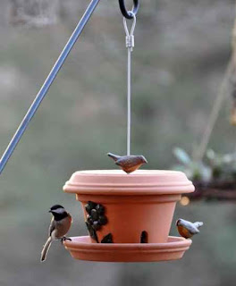 Make a DIY Flower Pot Bird Feeder