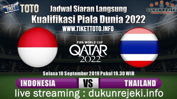 Prediksi Asia Qualification Indonesia Vs Thailand 10 September 2019