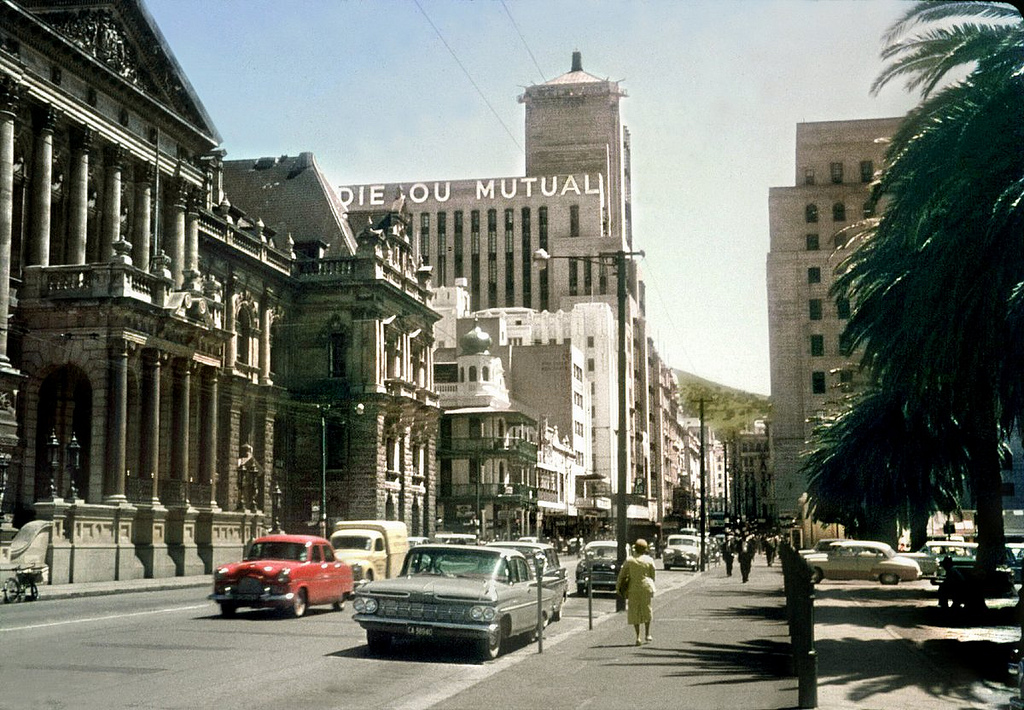 Abakusplace Color Photos Of Cape Town Between The 1950s