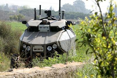 Военный беспилотный автомобиль