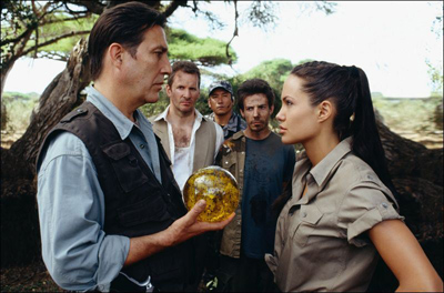 The orb which leads to Pandora's Box in Lara Croft Tomb Raider: The Cradle of Life movieloversreviews.filminspector.com