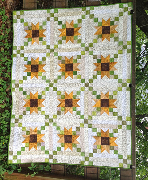 Butterfly Threads Mystery Quilt Free Tutorial designed by Diane of Butterfly Threads