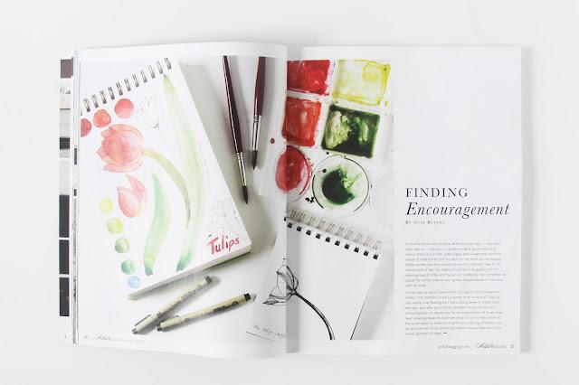 Artful Blogging, Artful Blogging Magazine, Anne Butera, My Giant Strawberry