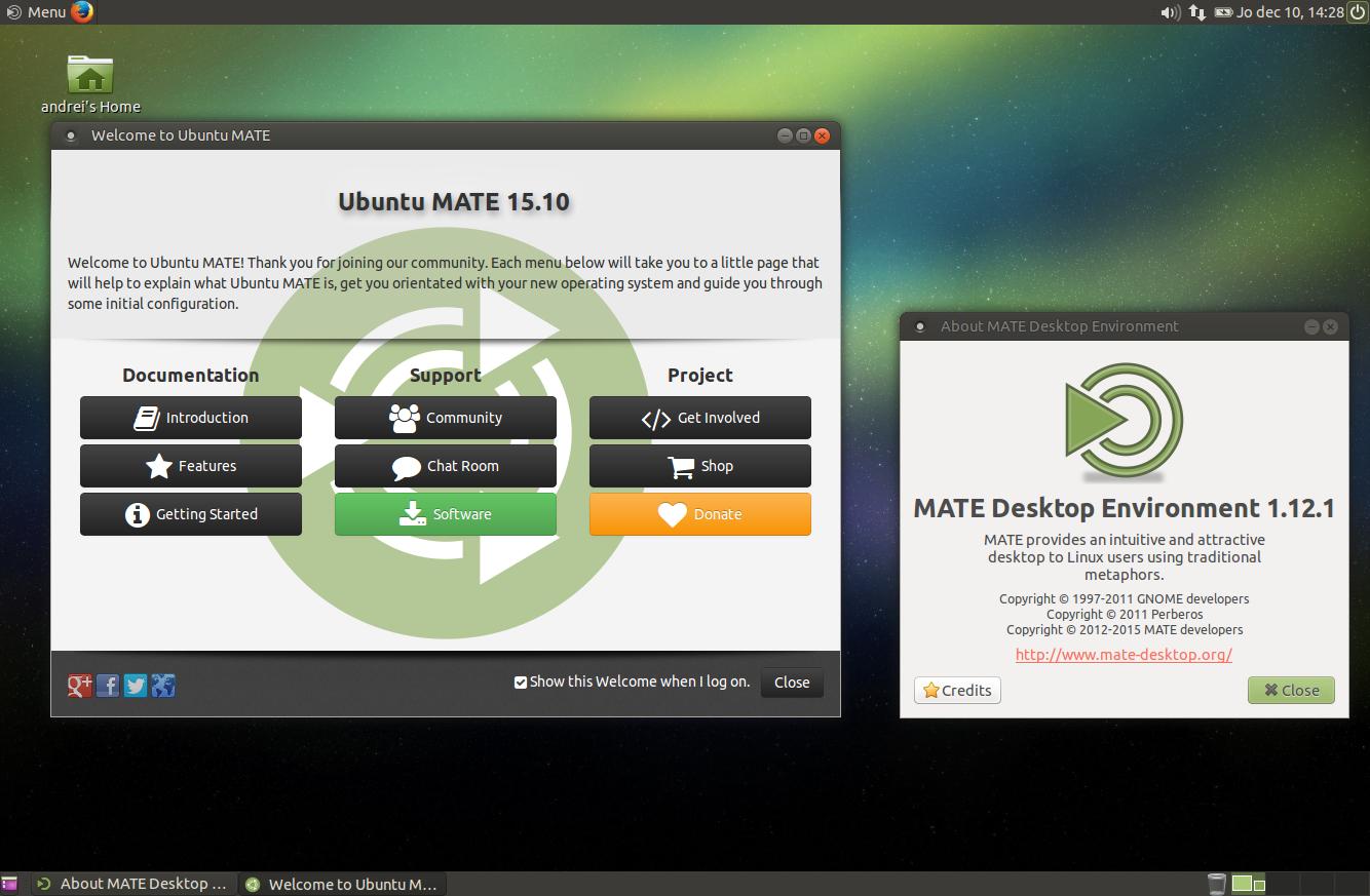 Install MATE 1 12 1 In Ubuntu MATE 15 10 Or 16 04 Via PPA ~ Web Upd8