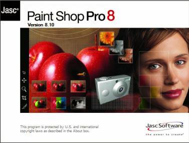 Jasc Paint Shop Pro v 8