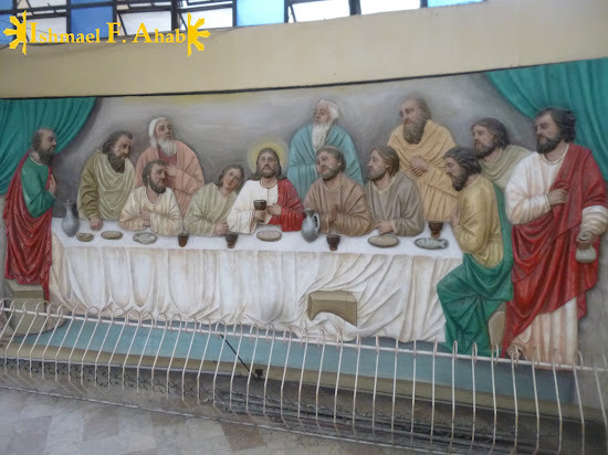 Bas-relief of the Last Supper in Consolacion Church (Consolacion, Cebu)