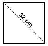 Rumus dan Cara Mencari Luas Persegi Jika Diketahui Diagonalnya