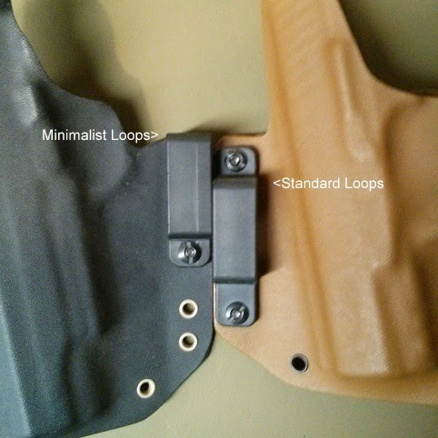 Minimalist belt loops vs Standard belt loops