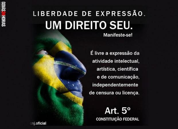 Blogueira Rayssa Araújo é ameaçada por cumprir seu papel de imprensa.