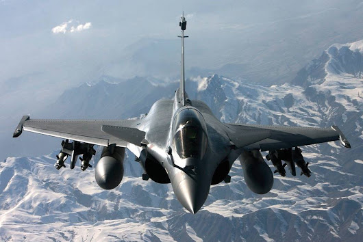FRENCH NAVY RAFALE JETS TRAINED IN SWITZERLAND