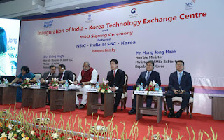 India-South Korea Technology Exchange Centre inaugurated in New Delhi