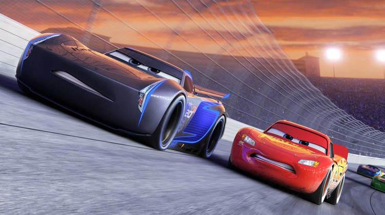 Rayo McQueen y Jackson Storm Cars 3