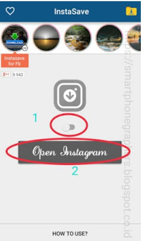 cara download video dr instagram