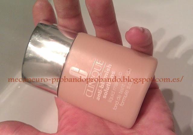 maquillaje Clinique anti blemish solutions