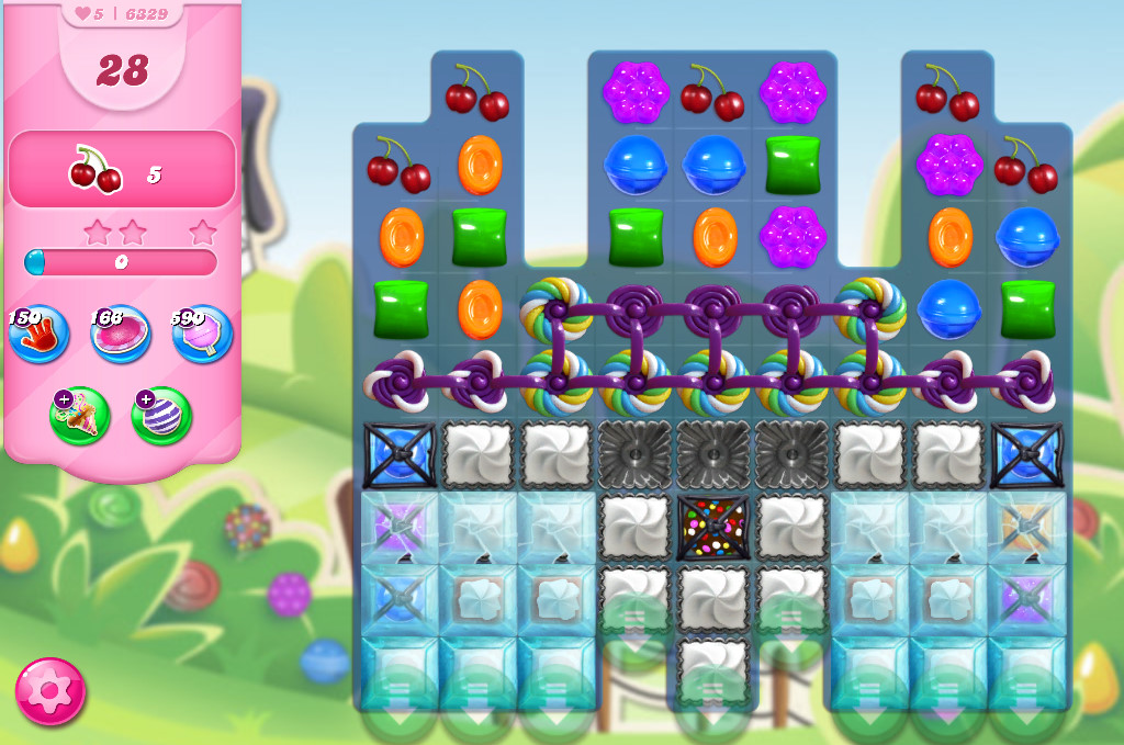 Candy Crush Saga level 6329