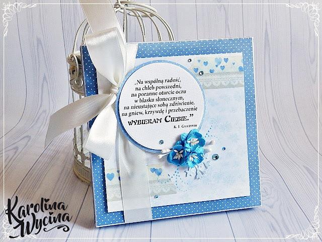 Komplet ślubny, czyli tylko błękit i Gałczyński