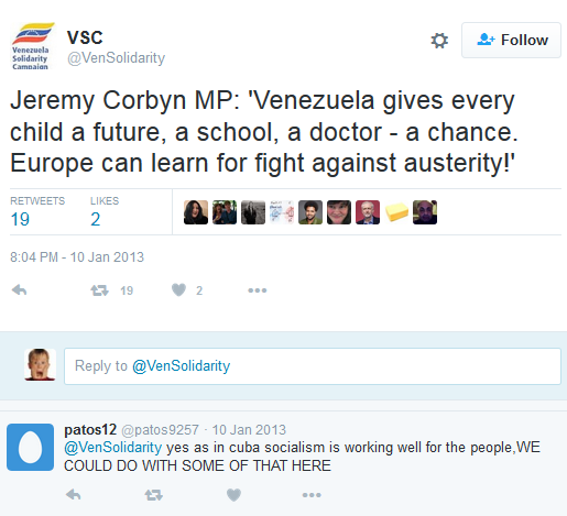 Paul Canning Venezuela Proof Corbyn S No Man Of Peace