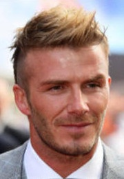 Beckham's Faux Hawk Hairstyle