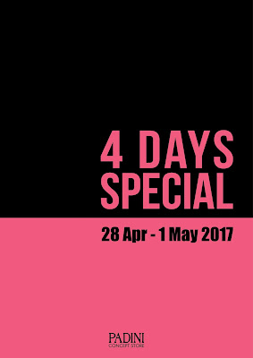 Padini Concept Store Outlet 4 Days Special Storewide Sale Discount Promo