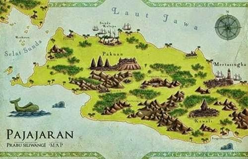 Peta Kerajaan Sunda