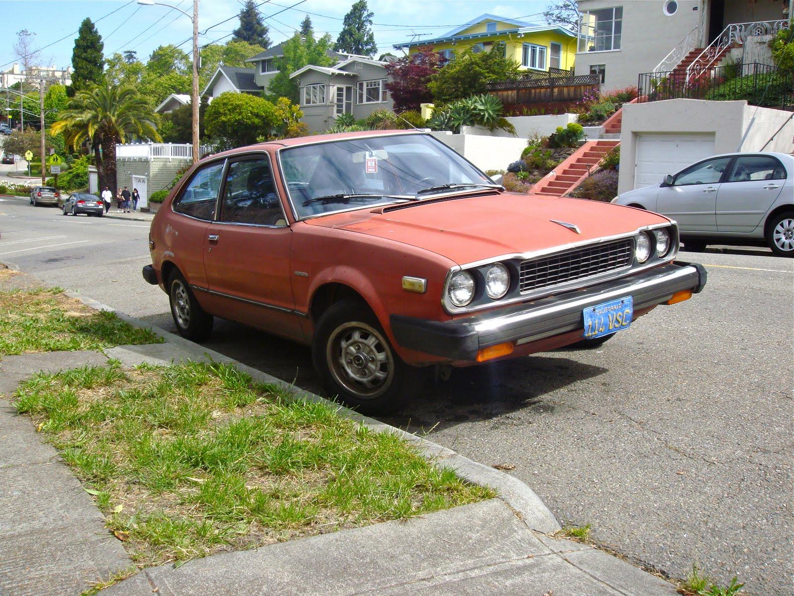 THE STREET PEEP: 1979 Honda Accord CVCC Hatchback