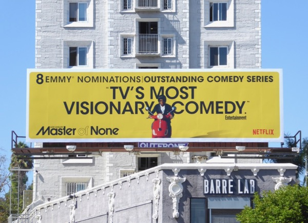 Master of None 2017 Emmy noms billboard