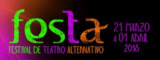 Logo FESTA Festival de Teatro Alternativo 2018