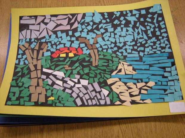 Pierce' Polka Dot Spot Paper Mosaics