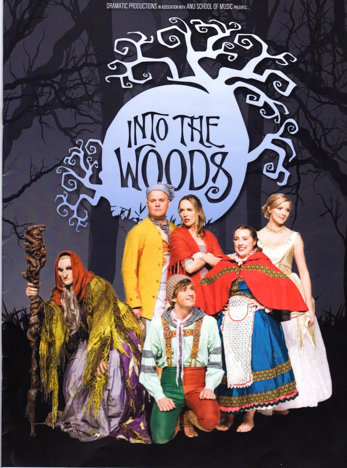 The Woods Wood Be Quiet If No Birds Sang Except The Best: Canberra Critics Circle: Into The Woods By Stephen